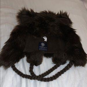 Brown Fur Winter Hat